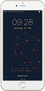 iPhone-Hintergrundbild Loesung